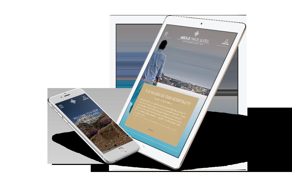 Minamal responsive webdesign